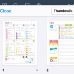 Digital weekly planning in the Goodnotes app (my first time trying digital planning!)