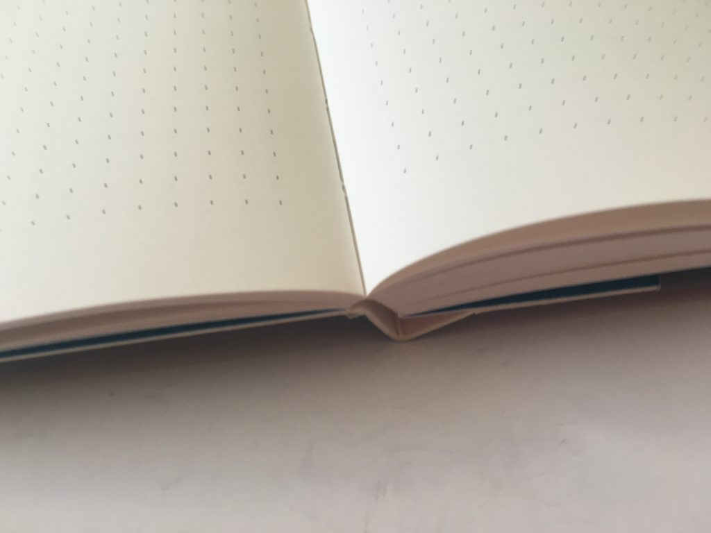 CEDON notebook review dot grid bullet journal bujo bright white paper europe planner 4mm dot grid sewn bound low flat_04