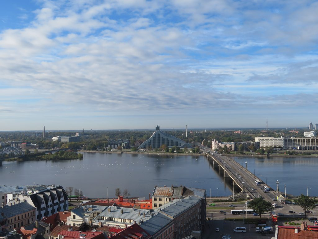 best viewpoints in riga st peters church tower september autumn weather