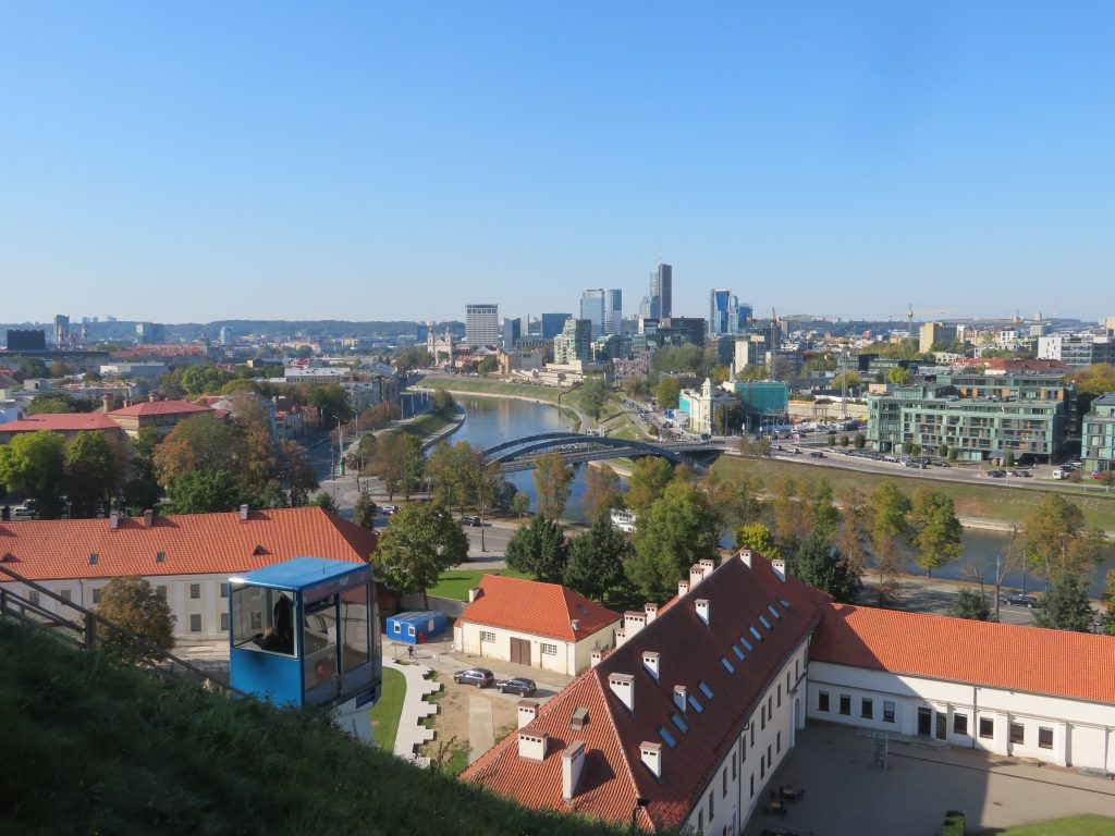 Gediminas Castle Tower funicular things to see and do in vilnius lithuania guide for visiting 3 day itinerary