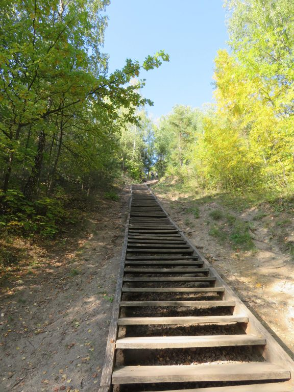 Vilnius lithuania hill of 3 crosses viewpoint how to get there best viewpoints free