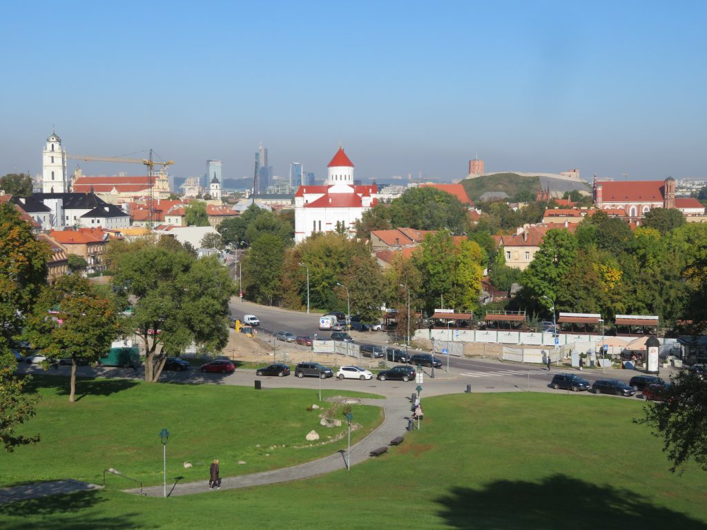The Bastion of the Vilnius Defensive Wall viewpoint things to see and do in vilnius lithuania