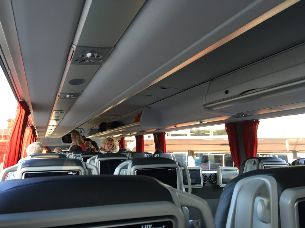 Lux Express bus review baltic states tallin to riga then riga to vilnius better than flying air baltic cheap