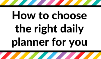 how to choose a daily planner 7 things to check all about planners blog tips planning organizing ideas printable planners