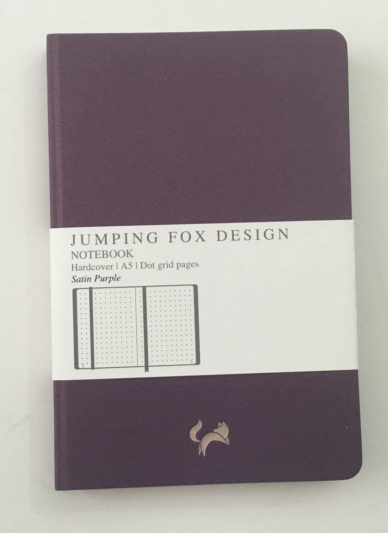 Jumping Fox Designs Dot Grid Notebook Review (Pros, Cons & Pen Testing)