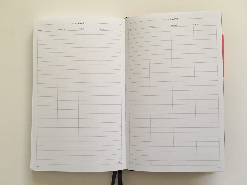 my legami milano dot grid notebook review pros and cons bright white paper pen testing numbered pages index 1 page monthly calendar bullet journal_17