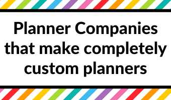 planner companies that will make a completely custom planner for you agendio may designs golden coil review pros and cons video comparison all about planners