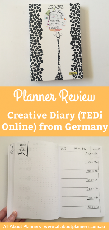 tedi online creative diary planner review from germany frankfurt 3 euro student planner bullet journal crossed with planner simple minimalist pen test horizontal weekly dot grid