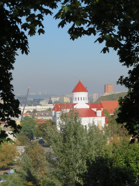 vilnius The Bastion of the Vilnius Defensive Wall best viewpoints lithuania