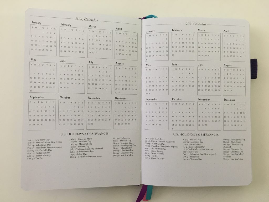 Legend planner review horizontal lined weekly plus notes spread dot grid pages pen testing white paper_08