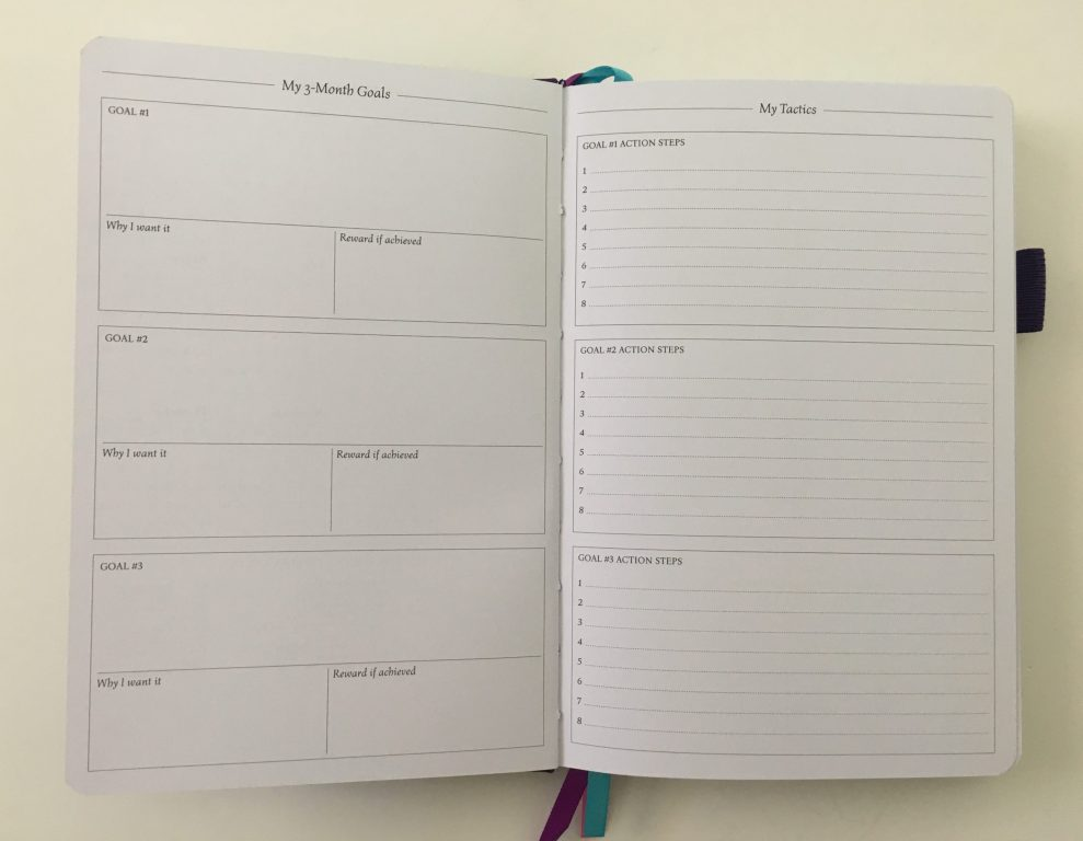 Legend planner review horizontal lined weekly plus notes spread dot grid pages pen testing white paper_09