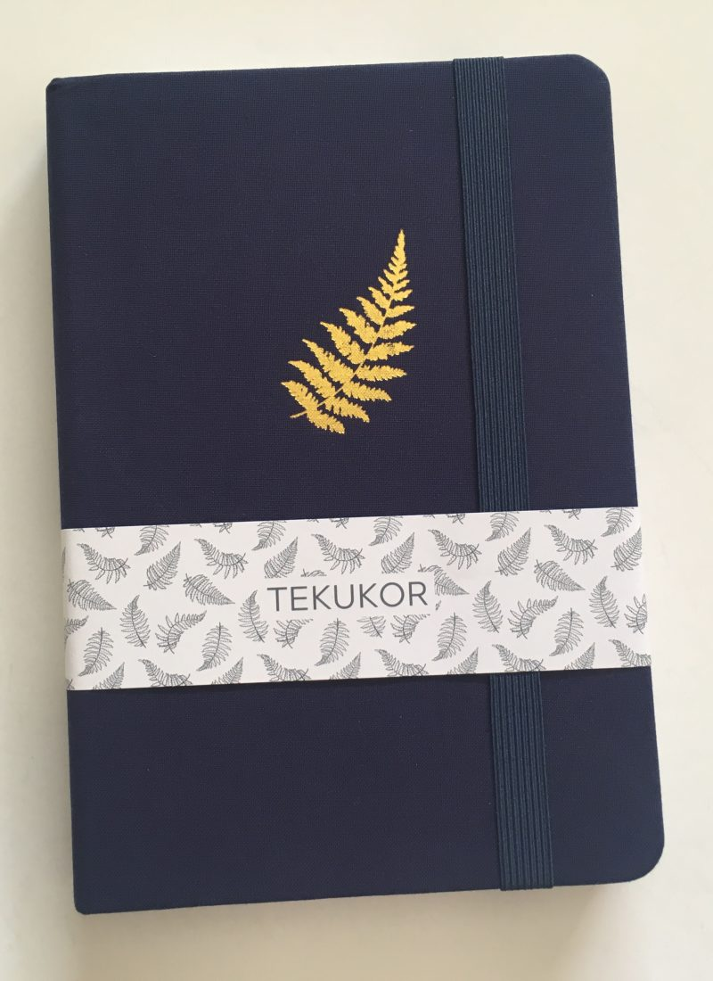 Tekukor dot grid notebook review bullet journal thick paper