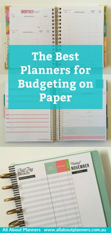 best planners for budgeting on paper tips recommendations all about planners bill tracker monthly calendar payments carpe diem clever fox happy planner comparison recollections