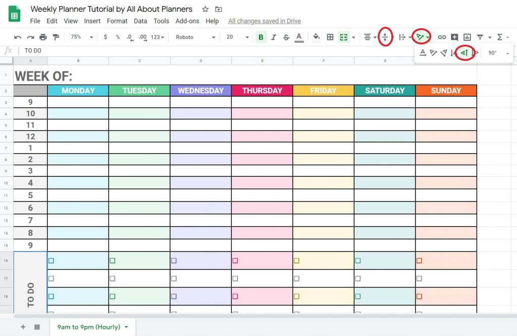 how to align text and change text direction rotate in google sheets quick tips tutorial