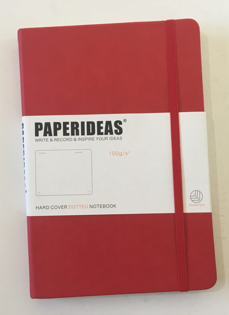 Paper Ideas Dot Grid Notebook Review & Pen Test (and comparison with the Leuchtturm)
