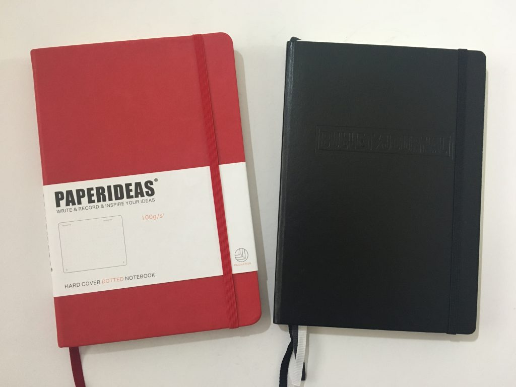 paper ideas versus the leuchtturm comparison review pros and cons paper quality pen testing dot grid notebook dupe