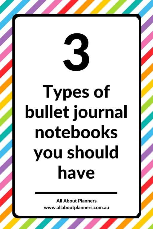 the 3 types of bullet journal notebooks you should have draft reference planning all about planners tips bujo newbie starting a bullet journal how to choose a bullet journal notebook