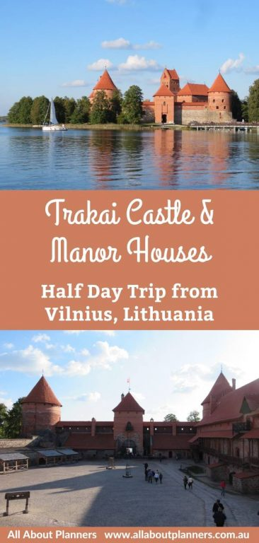 trakai castle and manor houses lithuania half day trip from vilnius lithuania tips guide for visiting