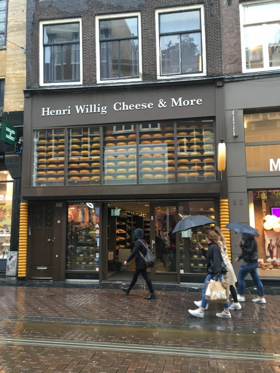 Henri Willig Cheese amsterdam