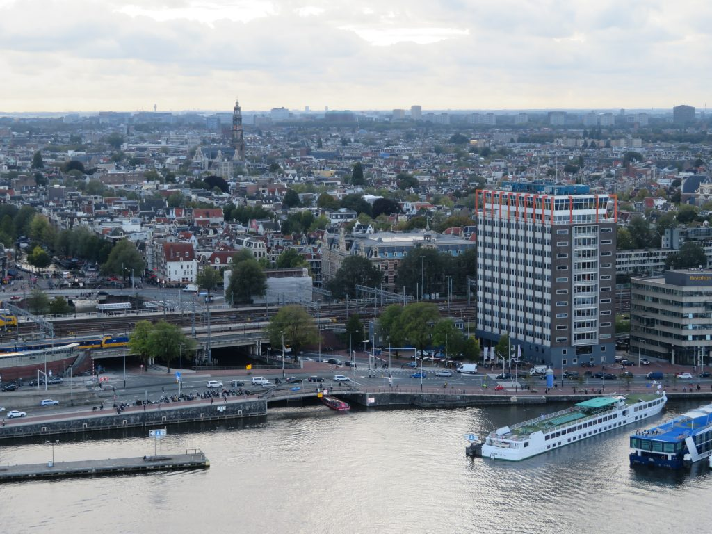 view from a'dam lookout amsterdam netherlands 5 day itinerary guide things to see and do best viewpoints