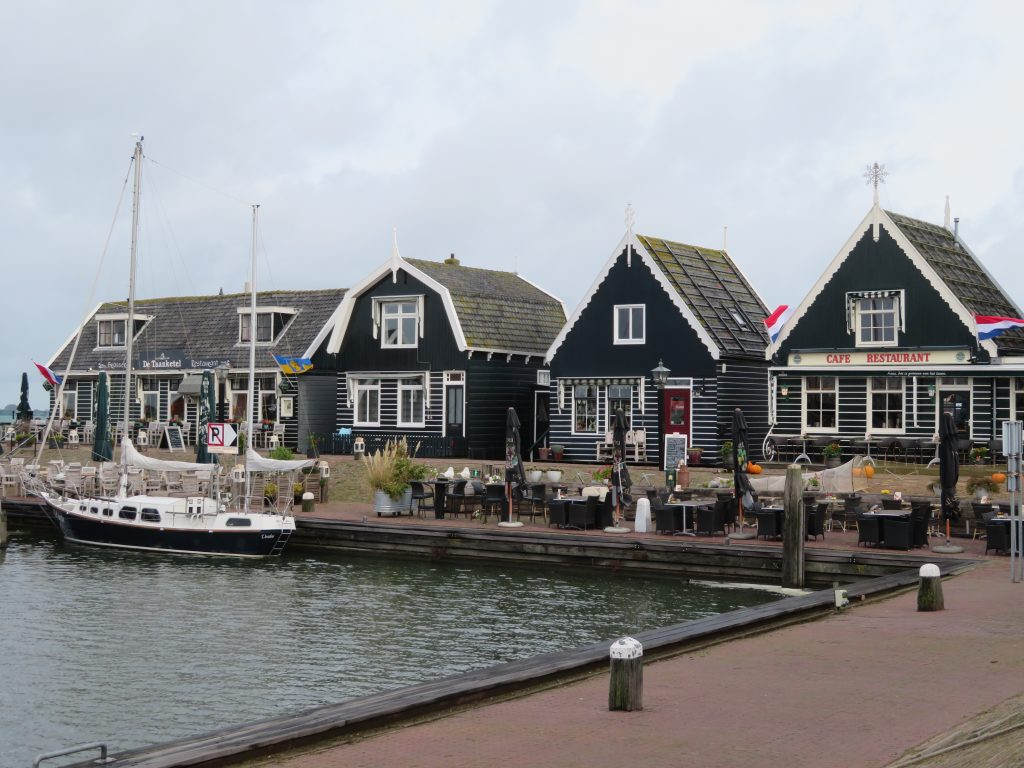 Marken harbour half day trip from amsterdam or full day trip with volendam quaint dutch village easily accessible via the bus october autumn