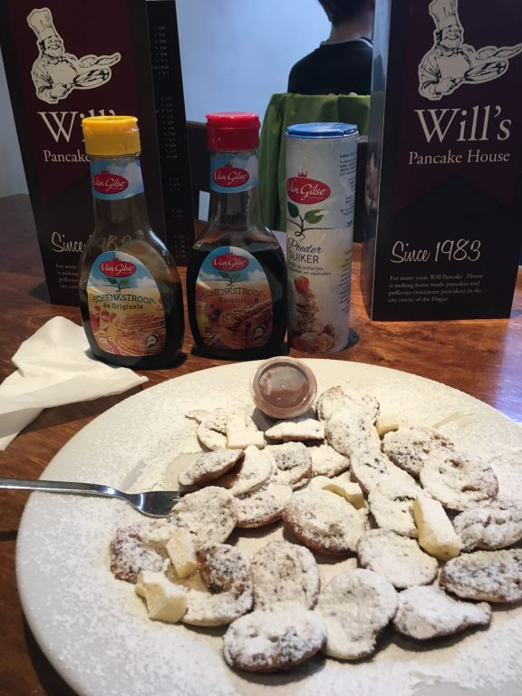 Will's Pancake House The Hague Den Haag best Poffertjes netherlands must see and do dutch food