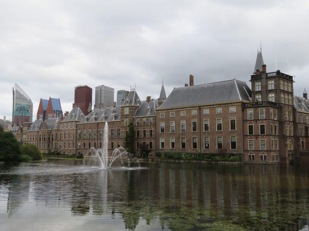 The Hague Den Haag Netherlands half day trip from amsterdam netherlands october houses of parliament binnenhof dutch