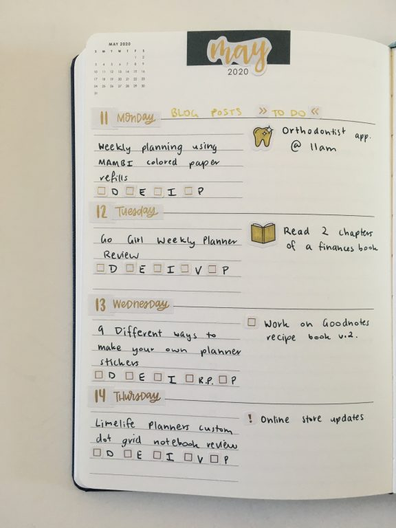 erin condren focused planner weekly spread hacking my ec gold weekly spread happy planner stickers simple_07
