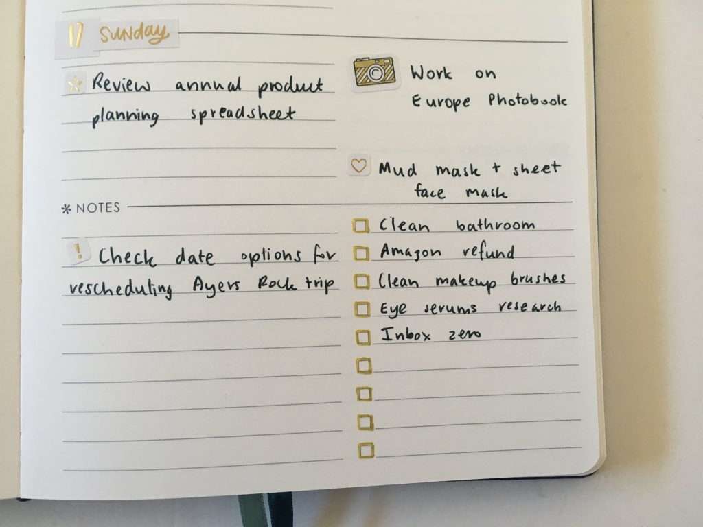 erin condren focused planner weekly spread hacking my ec gold weekly spread happy planner stickers simple_10