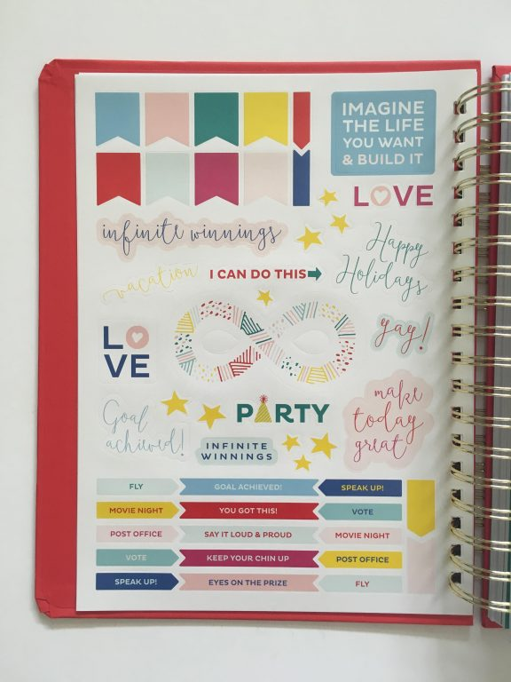 my infinite agenda weekly planner review pros and cons paper quality large page size 4 pages per week plenty of room to write unlined video flipthrough_05
