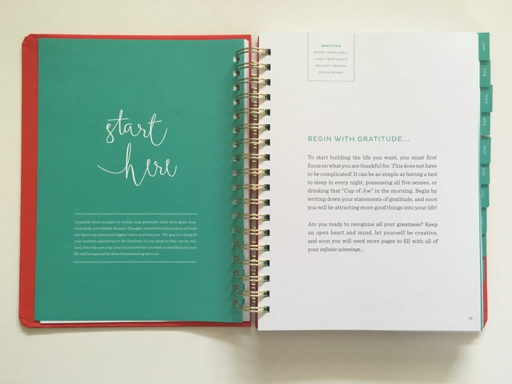 my infinite agenda weekly planner review pros and cons paper quality large page size 4 pages per week plenty of room to write unlined video flipthrough_07