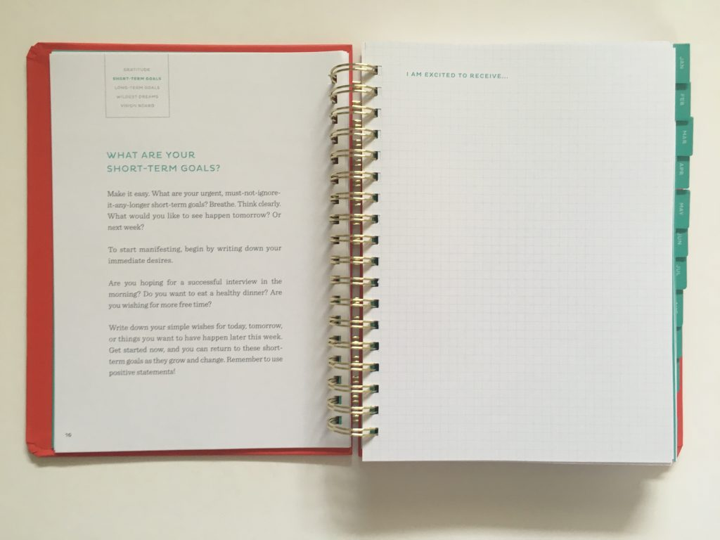 my infinite agenda weekly planner review pros and cons paper quality large page size 4 pages per week plenty of room to write unlined video flipthrough_09