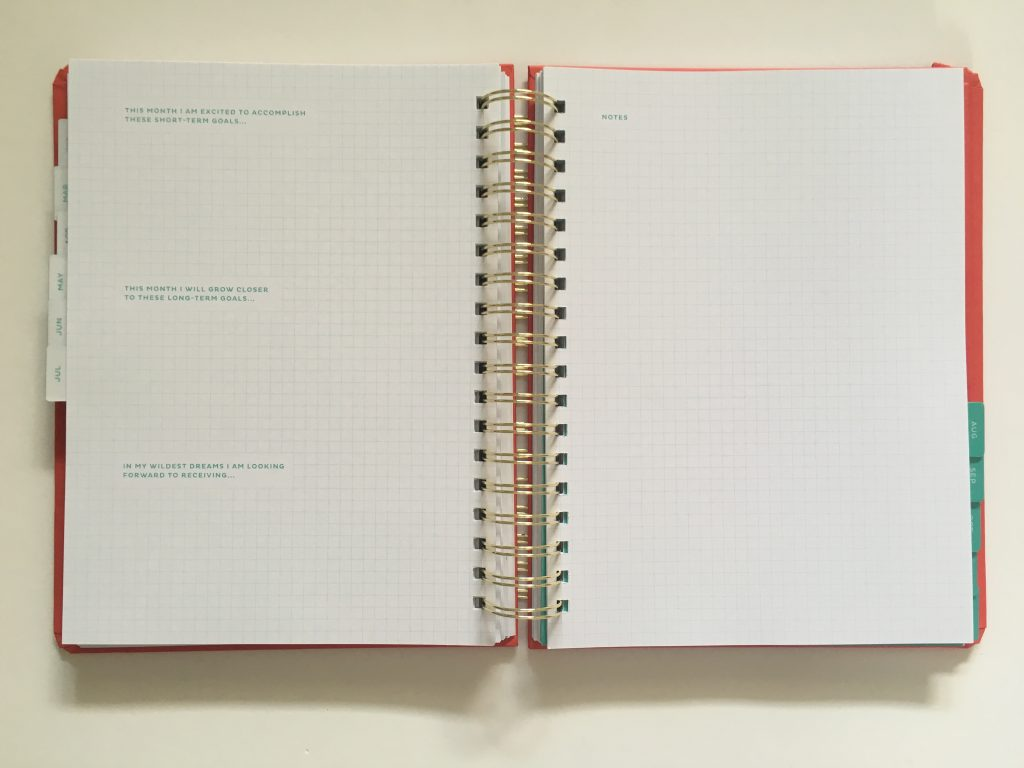 my infinite agenda weekly planner review pros and cons paper quality large page size 4 pages per week plenty of room to write unlined video flipthrough_19