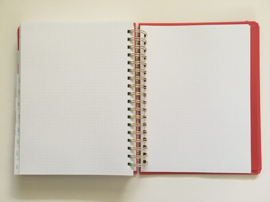 my infinite agenda weekly planner review pros and cons paper quality large page size 4 pages per week plenty of room to write unlined video flipthrough_30
