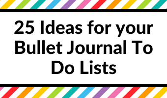bullet journal to do list spreads colorful sticky notes simple quick easy minimalist priority time based tasks projects organized inspiration ideas layouts