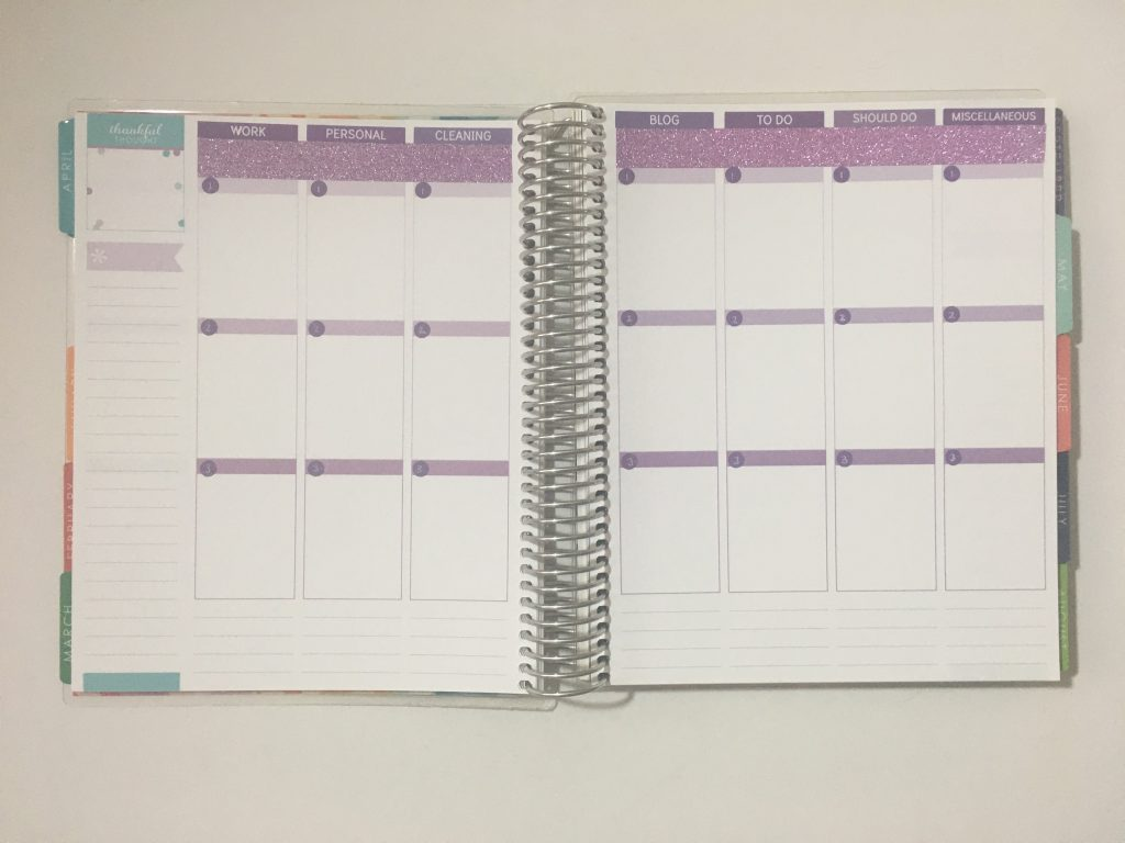 how to use an expired weekly planner erin condren hacks tips ideas inspiration simple quick easy date dot stickers