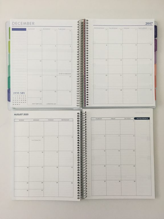 Plum Paper versus SHP Planner comparison weekly monthly spread price colors pros and cons video flipthrough pen test dupes cheaper alternative_06