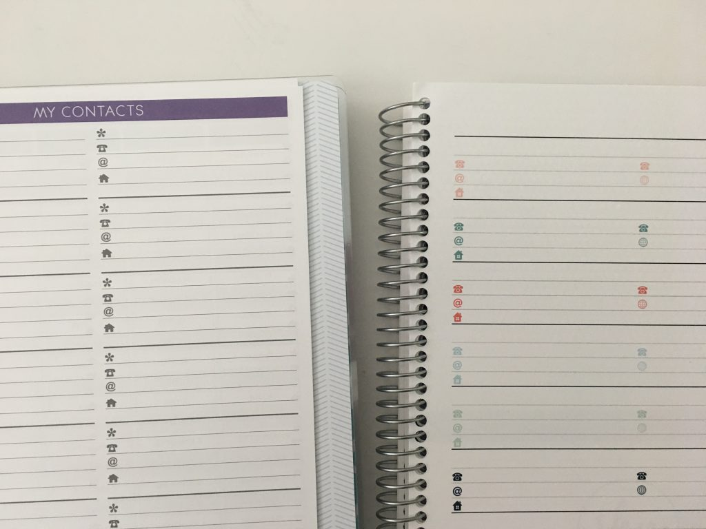 Plum Paper versus SHP Planner comparison weekly monthly spread price colors pros and cons video flipthrough pen test dupes cheaper alternative_15