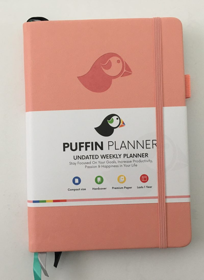 Puffin planner review (Undated weekly planner)