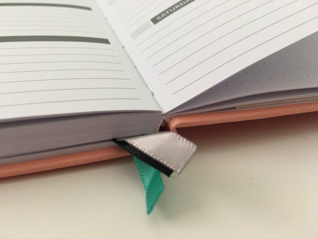 Puffin planner review undated weekly minimalist sv digital horizontal monday week start comibined weekend sewn bound lat flat stickers_16