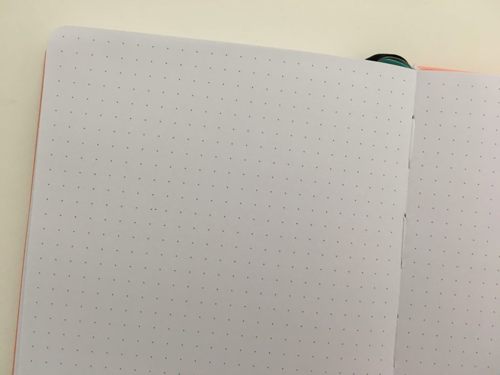 Puffin planner review undated weekly minimalist sv digital horizontal monday week start comibined weekend sewn bound lat flat stickers_23