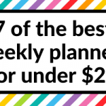 7 of the best weekly planners that cost around $20 or less