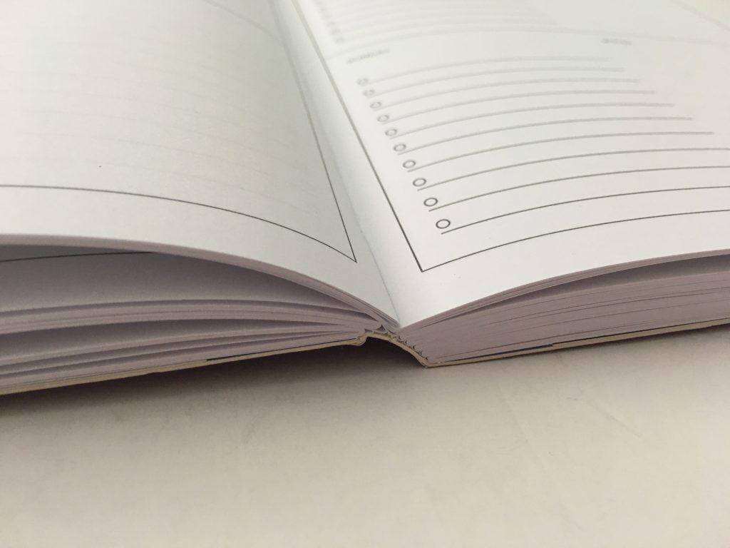 kmart weekly planner review 4 page spread monday start minimalist checklist lay flat binding under 10 dollars best australian planner cheap_08
