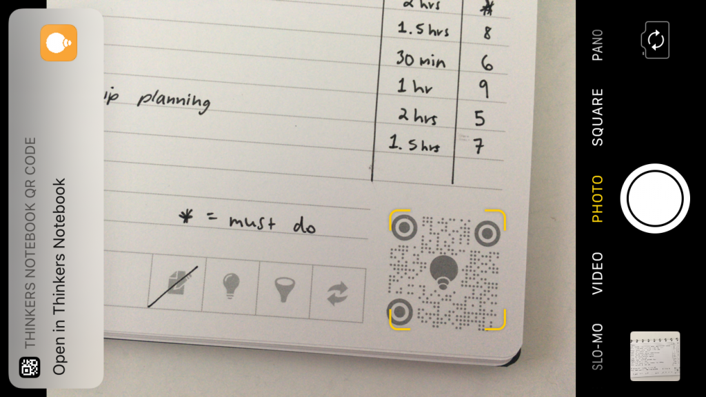 thinkers notebook app review discbound dot grid and lined notes all about planners bright white paper
