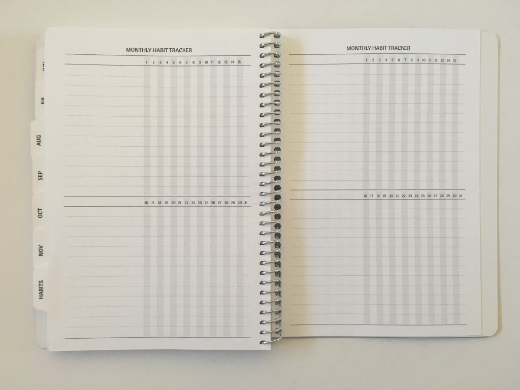 Agendio a5 weekly planner review custom personalised horizontal weekdays monday start project due checklist pre plan week_11