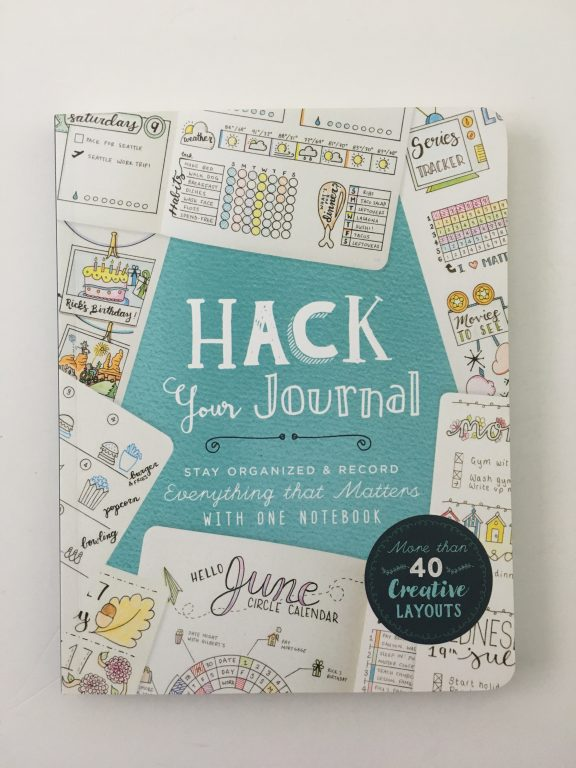 Hack Your Journal book review bullet journal inspiration layouts newbie beginner resources tips page layouts monthly daily weekly habit resources tools_02