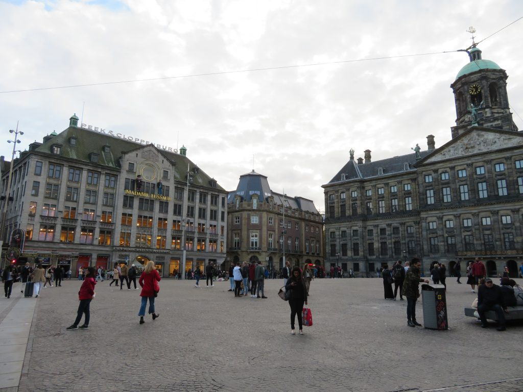 Dam Square Amsterdam town square photo spots things to see and do itinerary best places to photograph Amsterdam