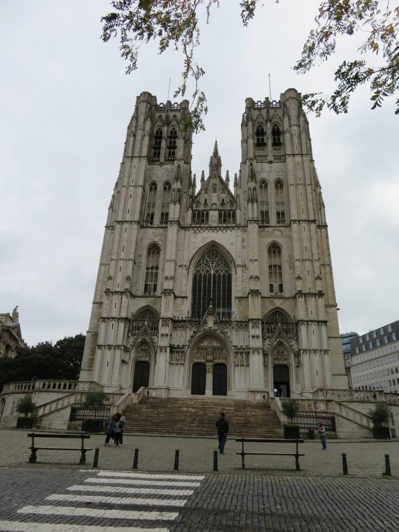 St. Michael and St. Gudula Cathedral brussels belgium walking itinerary best of brussels in 2 days weekend
