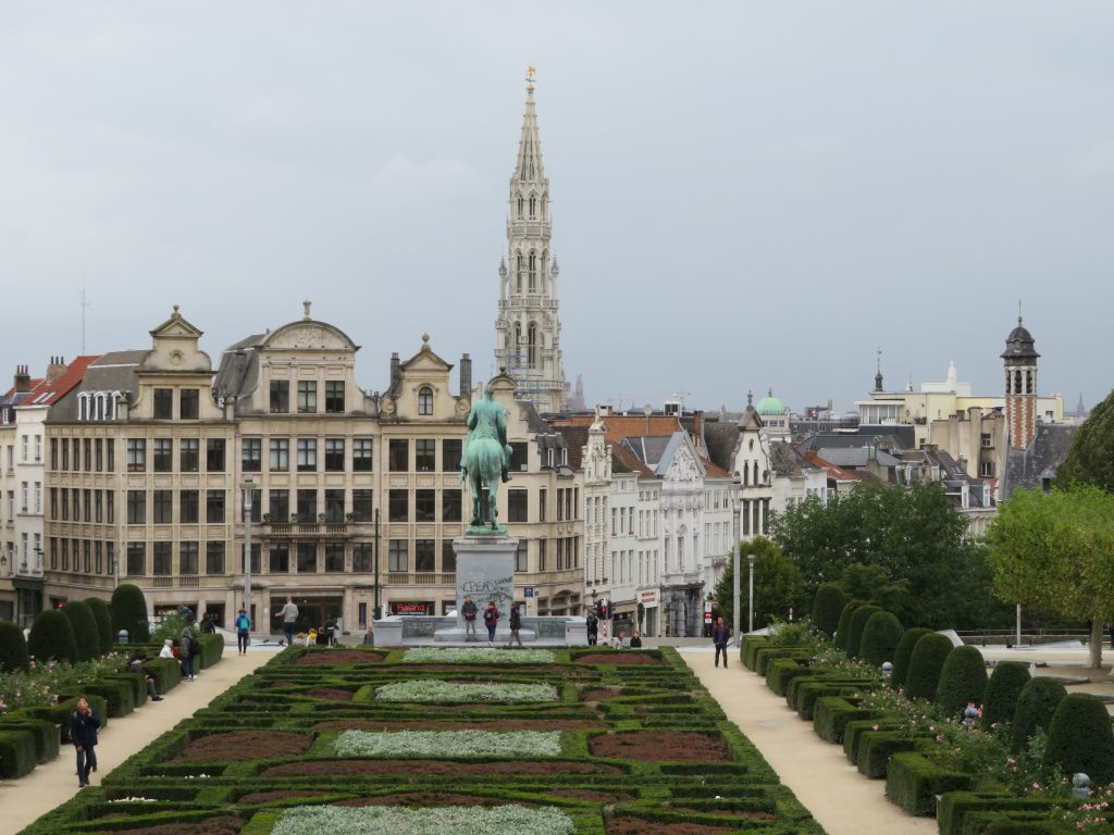 Mont Des Arts Brussels Belgium photo spots best things to see and do in a weekend itinerary