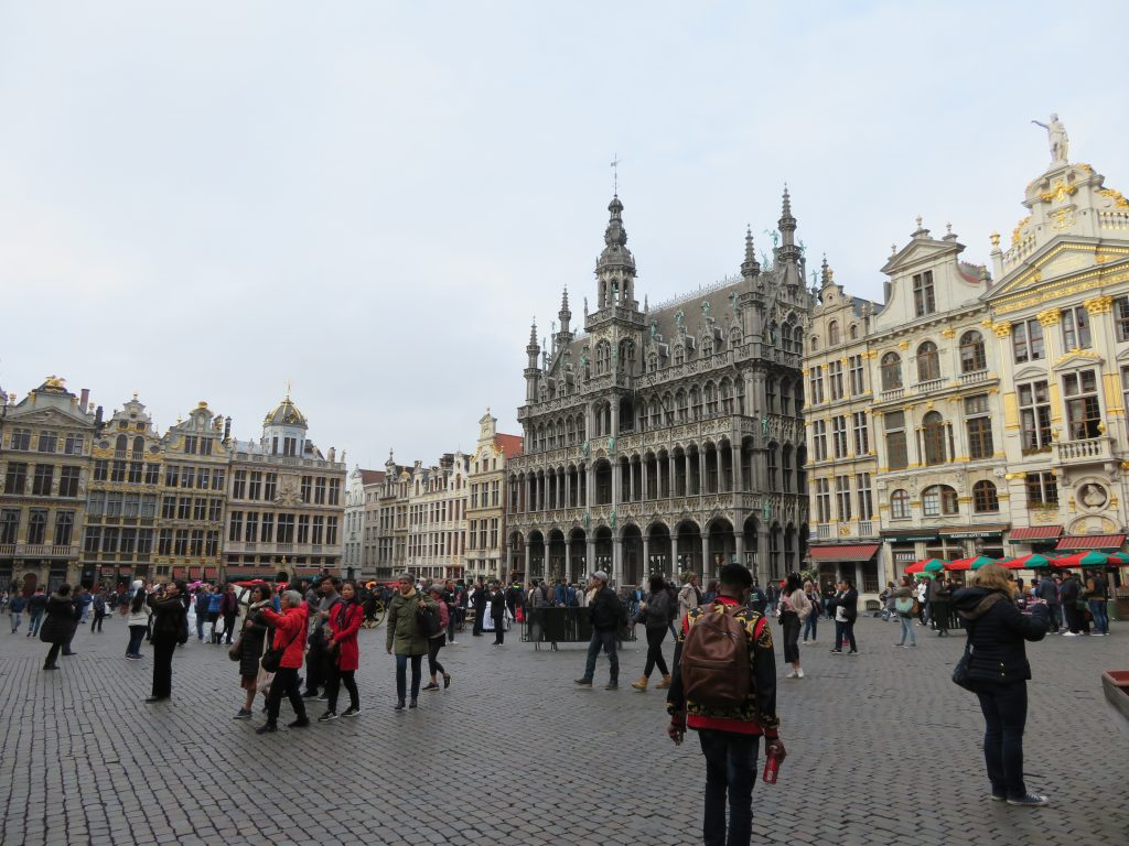Brussels The Grand Palace main square photo spots itinerary things to see and do best of brussels in 2 days October weather
